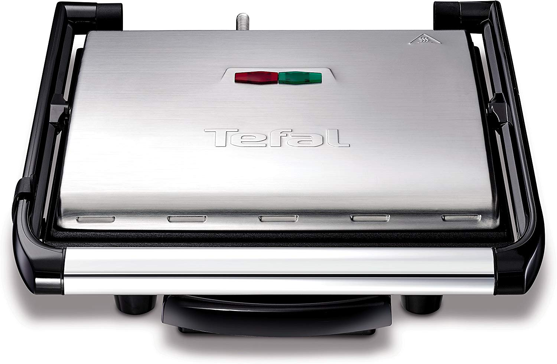 Tefal GC241D12 Gril Viande et Panini Multifonctions, 2000 Watts et Rangement Vertical